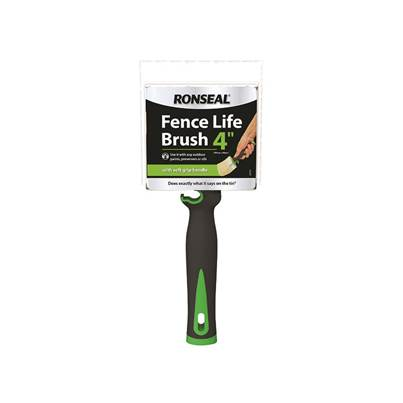 Ronseal Soft Grip Fence Life Brush 100 x 40mm