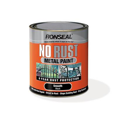 Ronseal No Rust Metal Paint Hammer