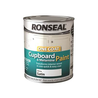 Ronseal One Coat Cupboard & Melamine Paint