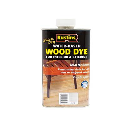 Rustins Quick Dry White Wood Dye