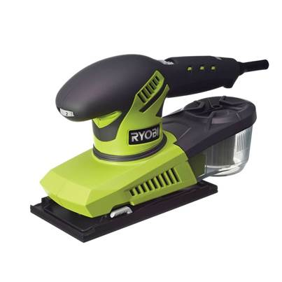 Ryobi ESS280RV 1/3 Sheet Variable Speed Orbital Sander 280W 240V