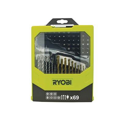 Ryobi RAK 69MIX Mixed Screwdriver Set 69 Piece