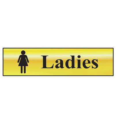 Scan Sign: Ladies Bathroom