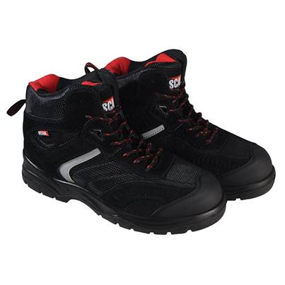 Scan Bobcat Low Ankle Hiker Boots