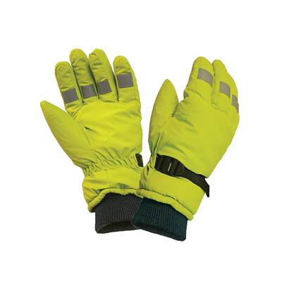 Scan Hi-Visibility Gloves, Yellow