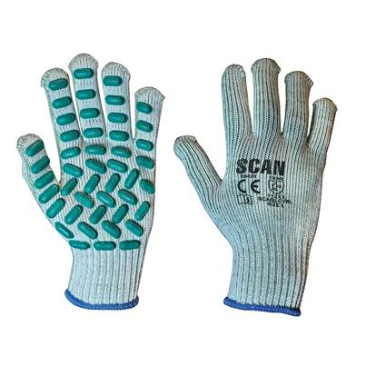Scan Vibration Resistant Latex Foam Gloves