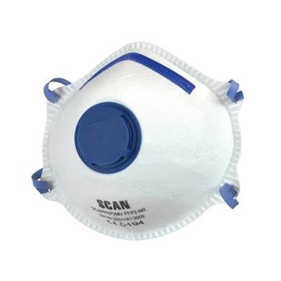 Scan Moulded Valved Disposable Mask