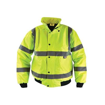 Scan Hi-Vis Yellow Bomber Jacket