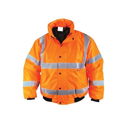 Scan Hi-Vis Orange Bomber Jacket