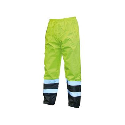 Scan Hi-Vis Yellow Black Motorway Trousers