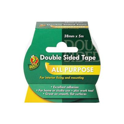 Shurtape Duck Tape® Double Sided Tape 38mm x 5m