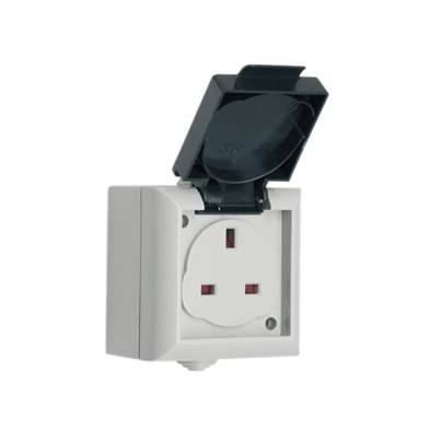 SMJ IP54 Outdoor Socket 13A