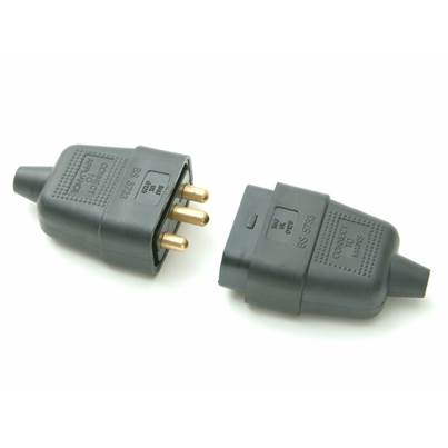 SMJ Black Plug & Socket
