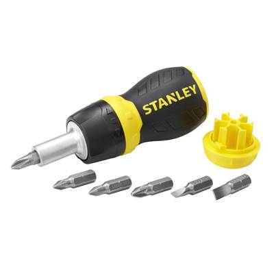 Stanley Tools Multibit Ratchet Stubby & Bits