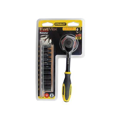 Stanley Tools FatMax® Rotator Socket Set of 11 Metric 1/4in Drive