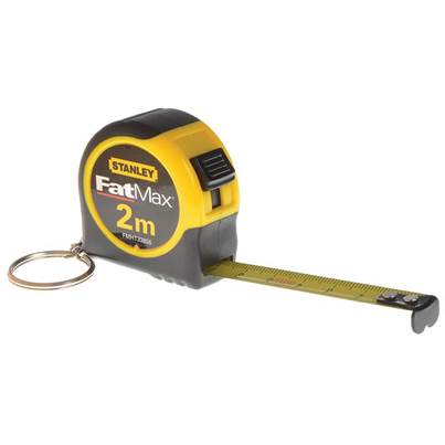 Stanley Tools Key Ring Tape 2m (Width 13mm)