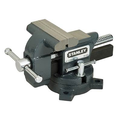 Stanley Tools MaxSteel Light-Duty Vice 115mm (4.1/2in)