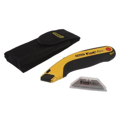 Stanley Tools FatMax® Retractable Utility Knife, Holster & Blades