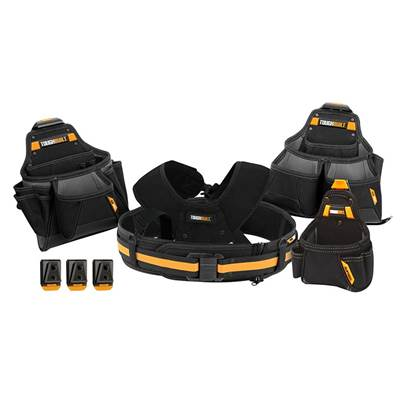 ToughBuilt Pro Contractor Tool Belt Set 5 Piece