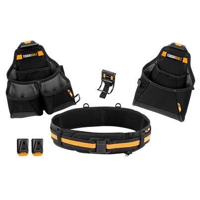 ToughBuilt Builder Tool Belt Set 4 Piece