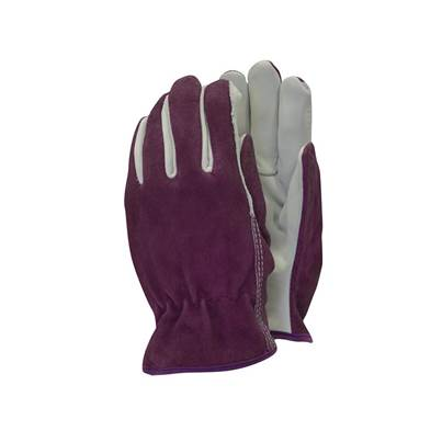 Town & Country TGL114M Premium Leather & Suede Ladies' Gloves - Medium