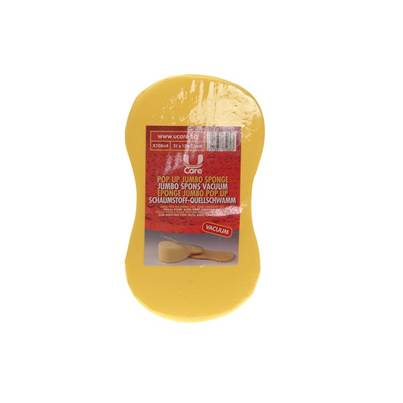 U-Care Pop-up Jumbo Sponge - Vacuum Packed