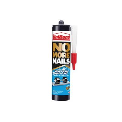 Unibond No More Nails Waterproof Interior / Exterior - Solvent Free 300ml