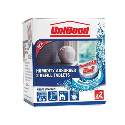 Unibond Small Moisture Absorber Power Tab Refill