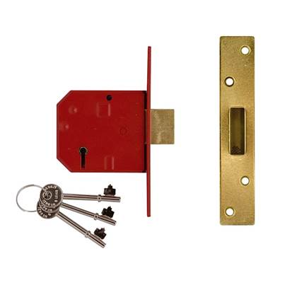 UNION 2134E BS 5 Lever Mortice Deadlock