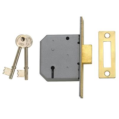UNION 2177 3 Lever Mortice Deadlocks