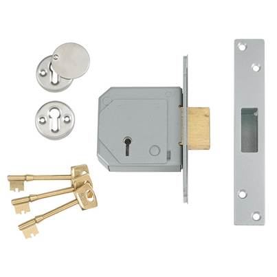 UNION 3G114E BS C Series 5 Lever Mortice Deadlock