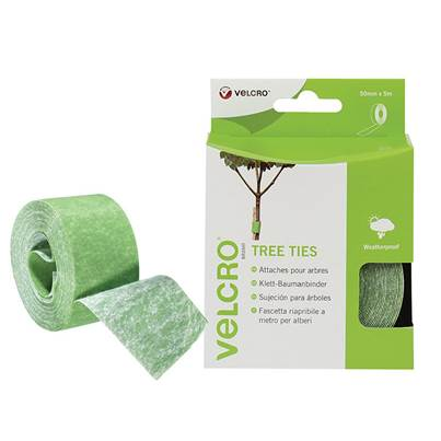 VELCRO® Brand VELCRO® Brand ONE-WRAP® Tree Ties 50mm x 5m Green