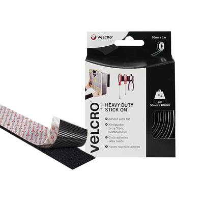 VELCRO® Brand Heavy-Duty Hook & Loop Stick On Tape