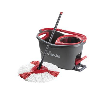 Vileda EasyWring & Clean Turbo Spin Mop & Bucket