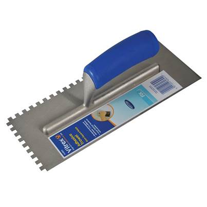 Vitrex Tiling Adhesive Trowels Square Notch