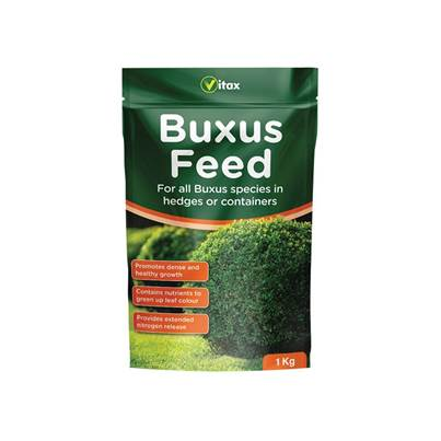 Vitax Buxus Feed 1kg Pouch
