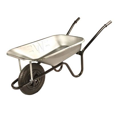 Walsall 85 Litre Galvanised Builders Wheelbarrow