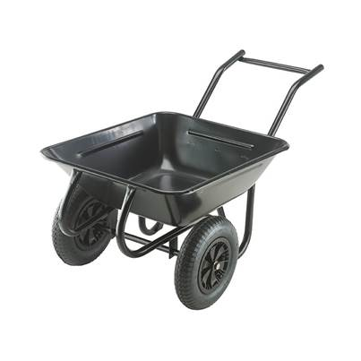 Walsall 175L Contractor Twin Wheelbarrow