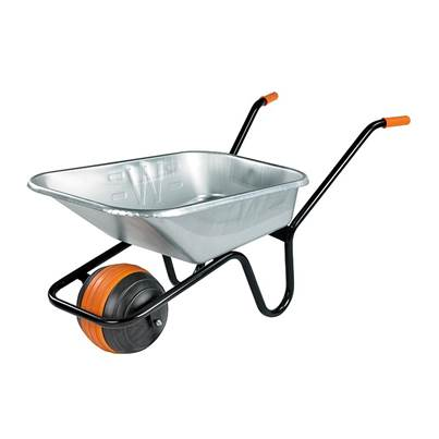 Walsall 90 Litre Duraball Galvanised Wheelbarrow