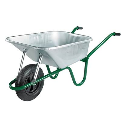 Walsall 120L Galvanised Professional Wheelbarrow