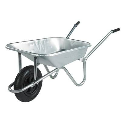Walsall 85L Prestige Galvanised Wheelbarrow