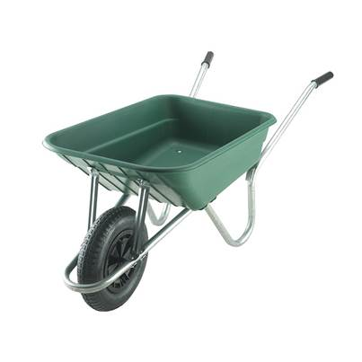 Walsall 90L Royale Green Polypropylene Wheelbarrow