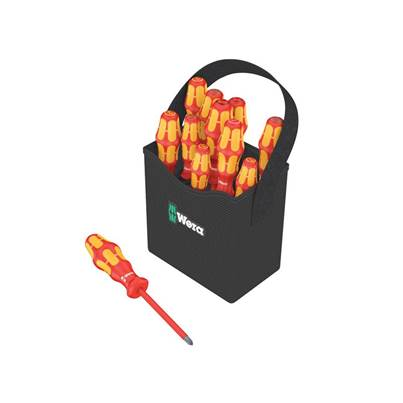 Wera Kraftform Plus VDE 2go 100 Screwdriver Set of 12 SL/PH/PZ/TX