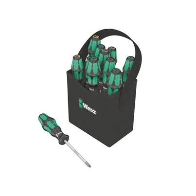 Wera Kraftform Plus 2go 300 Screwdriver Set 12 Piece SL/PH/PZ/TX