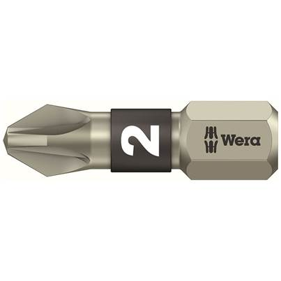 Wera Stainless Steel Pozi Bits TS Torsion
