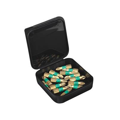 Wera 855/4 BDC BiTorsion Pozidriv PZ2 Diamond Bit Box 15
