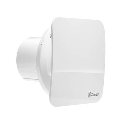Xpelair Silent Extractor Fan-Humidistat 100mm