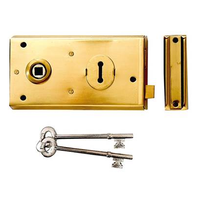 Yale Locks P401 Rim Lock 138 x 76mm