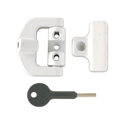 Yale Locks 8K123 PVCu Window Lock White Finish