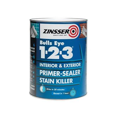 Zinsser Primer - Sealer Bulls Eye® 123